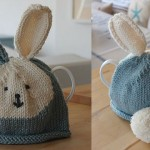 Knitting…  Tea Cosy with Pom, Pom!